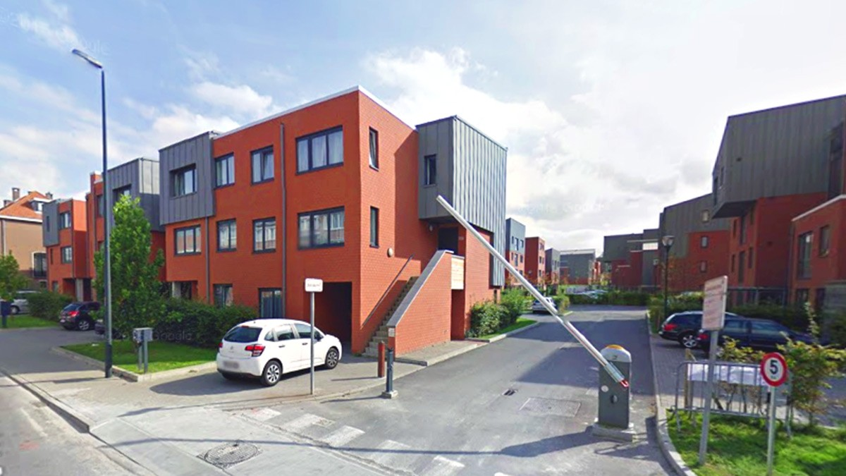Résumé d architecture moderne fil de fer d immeuble de bureaux